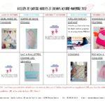 Ateliers de couture vacances scolaires de la Toussaint